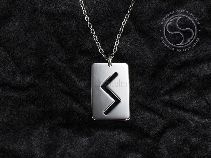 Sowilo Rune Pendant Viking Symbol Stainless Steel Jewelry Sowulo Rune Necklace Keychain Logo S Rune Emblem Elder Futhark Amulet Sun Sign