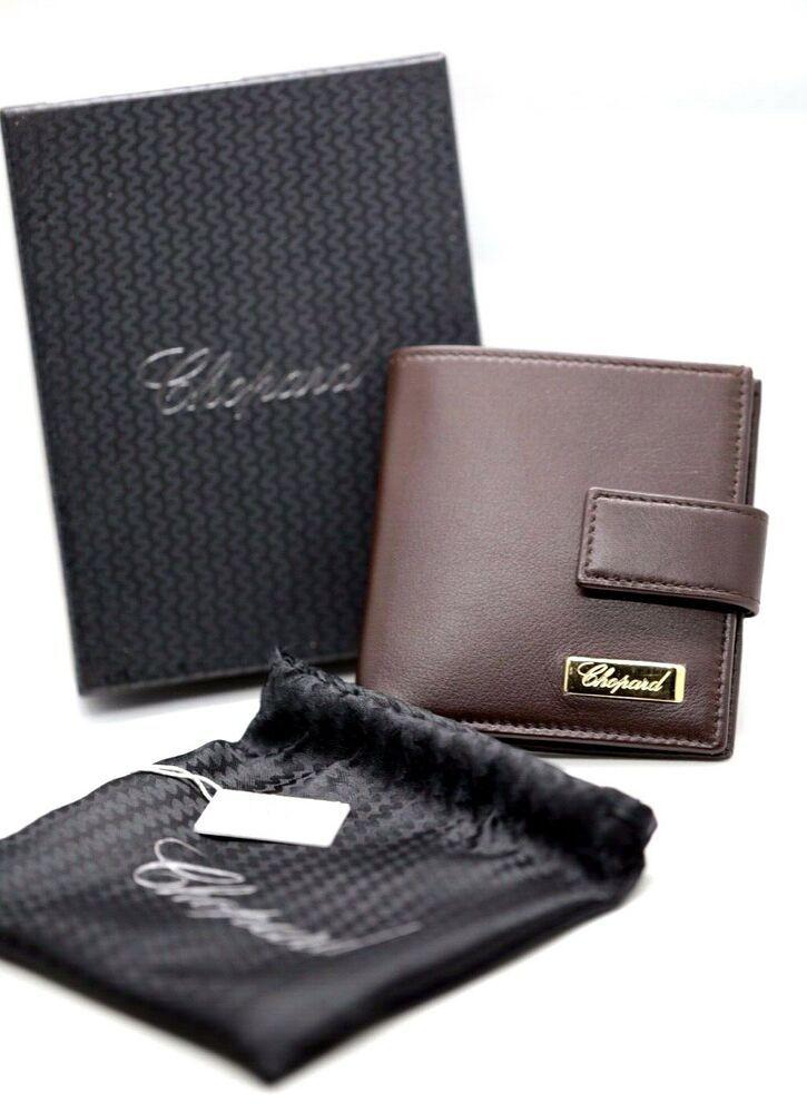 Ebay Sponsored Chopard 95 7527 Brown Leather Credit Hard Business Card Holder 3 5 X 3 75 Business Card Holders Card Holder Chopard