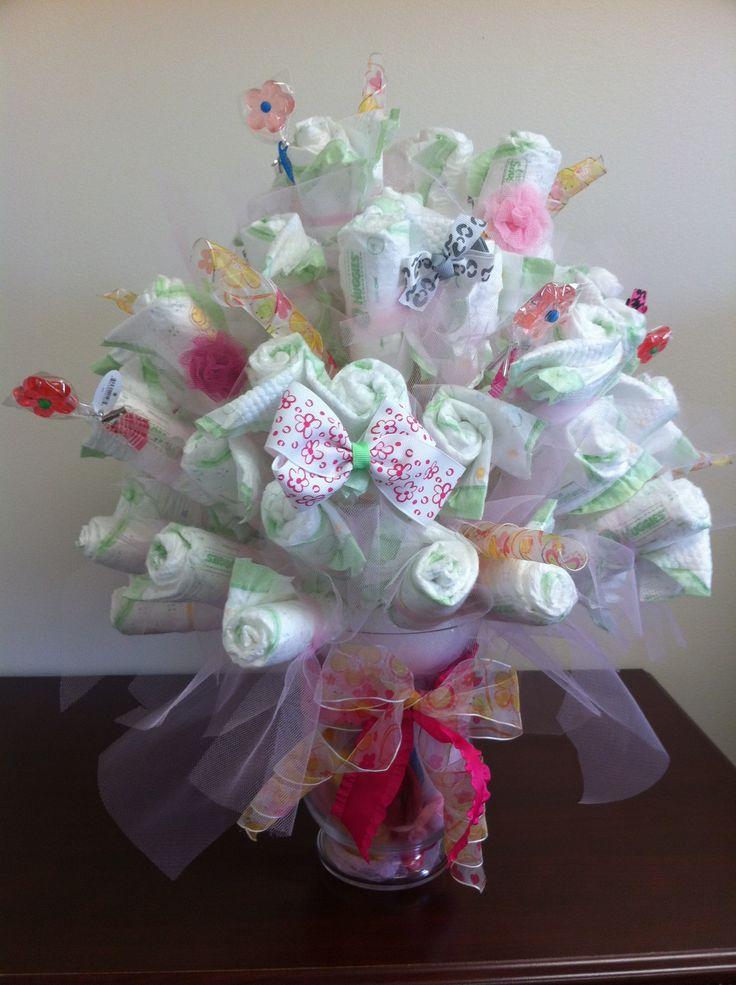 Baby Shower Flower Bouquet