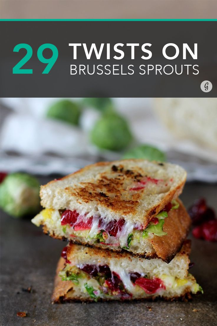 29 Brussels Sprout Recipes With an Unexpected Twist #recipes #healthy #Thanksgiving