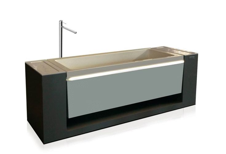 DISAMBIGUA A basin that becomes bathtub and vice versa, a spa that becomes a sink, this is Disambiguation a combination of elegance, technology and simplicity.