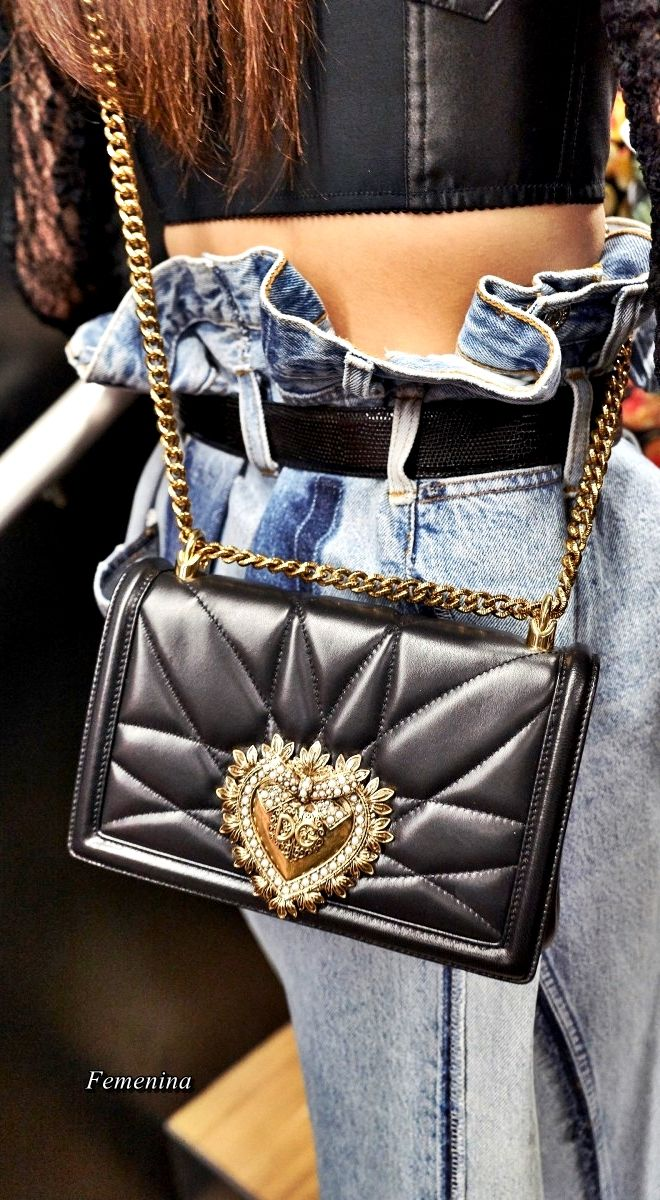 b3409c7c7d55 Dolce   Gabbana Fall Winter 2018-19 - Devotion Bag  dolcegabbana bag ...