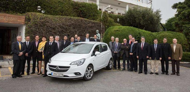 Opel Corsa - Greek Car of the Year 2015
