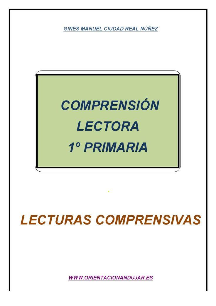 Comprensión lectora 1º de primaria - fichas 1-5 - Comprensión lectora