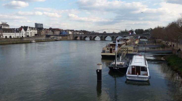 Blick von der Brücke, Maastricht - Foto: S. Hopp