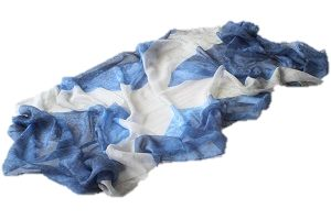 Scotland scarf. Scottish flag scarf.