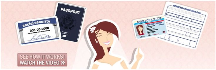 Name Change After Marriage Only $29.95 || MissNowMrs.com