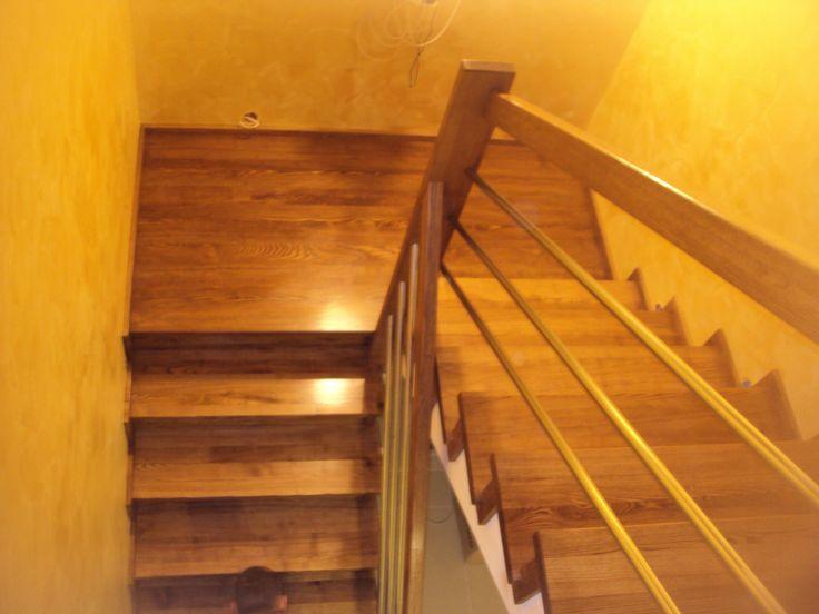 Znalezione obrazy dla zapytania schody drewniane na beton