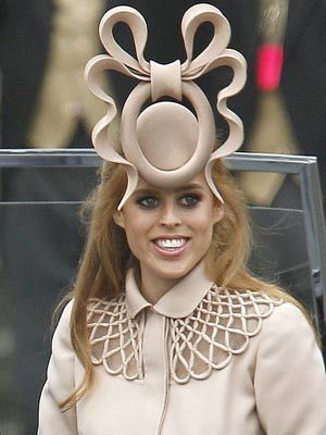 Princess Beatrice Hat Ugly Prince William Kate Middleton