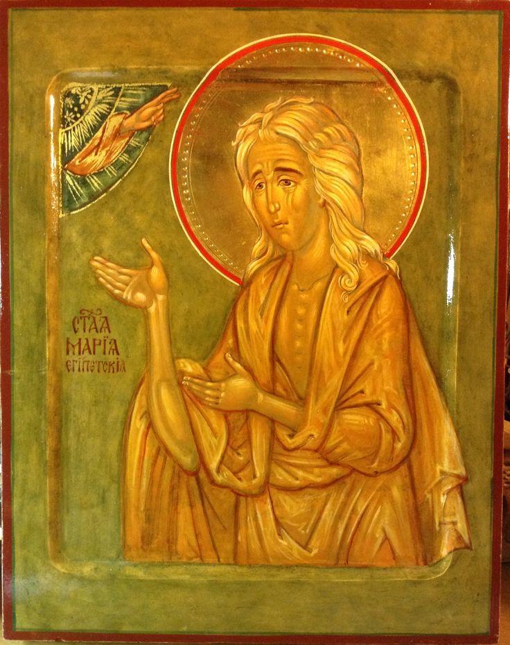 Св преподобная Мария Египетская / Saint Mary Of Egypt
