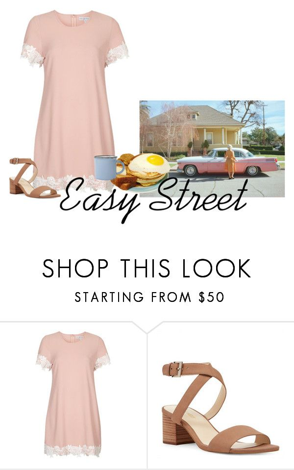 """""""Easy Street"""" by bethani-marie ❤ liked on Polyvore featuring Rare London, Nine West and canvas"""