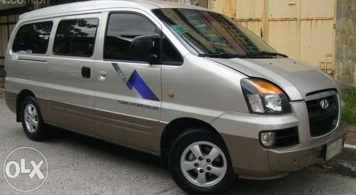 Elegant Car Sales Used Cars Search: 2005 Hyundai Starex For Sale Philippines