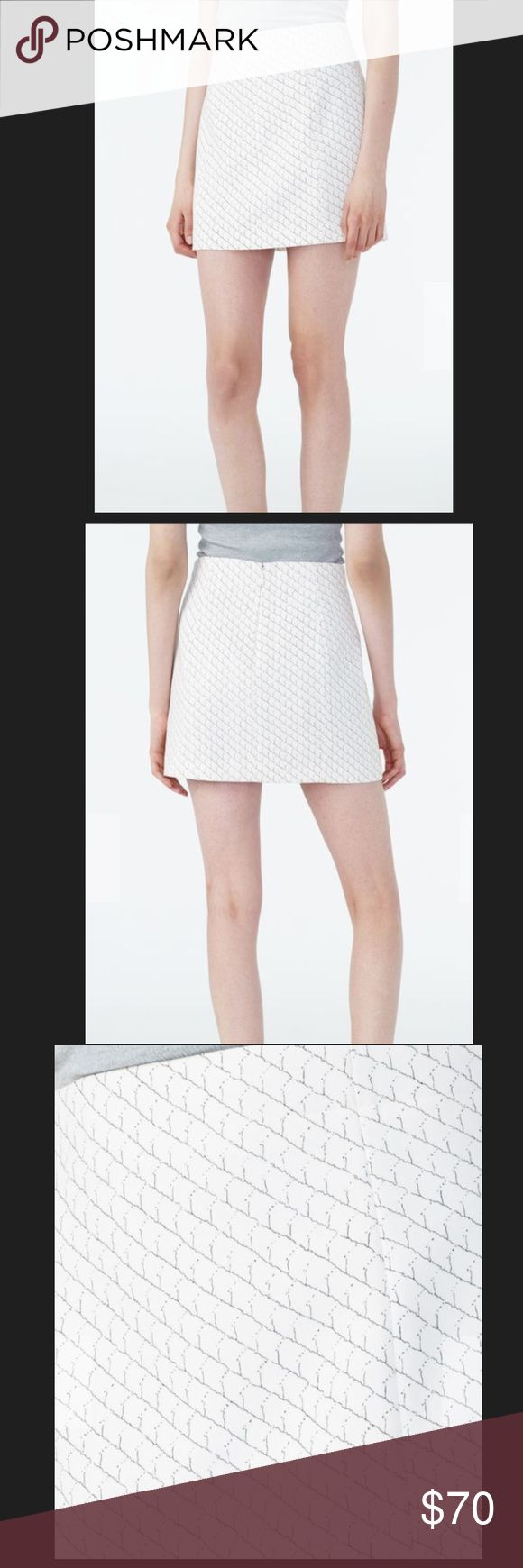 """A/X ARMANI EXCHANGE PRINTED SUITED MINI SKIRT A/X ARMANI EXCHANGE PRINTED SUITED MINI SKIRT.  Size : 0 Approx Length 15"""".                                                  Size : 6 Approx Length 15 1/2"""".                                            Size : 8 Approx Length 16"""" A/X Armani Exchange Skirts Mini"""