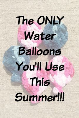 These are the only water balloons you'll ever need, because they are reusable!!!