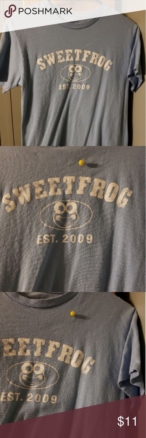 SWEETFROG FROYO T-Shirt mit benutzerdefinierten Farben Hellblaue Komfortfarben SWEET FROG FRO…