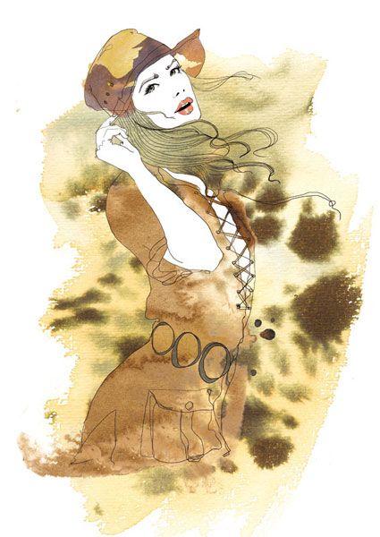 Illustration Marie Claire Spain