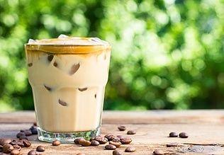 Iskaffe på en varm sommerdag. #iskaffe #sommerdrik