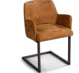 Eetkamerstoel, stoel Calsi, Stoere #eetkamerstoel van NIX #Design. De #stoel #Calsi combineert robuuste en #industriële uitstraling met klasse en zitcomfort. Armleuning en poten uitgevoerd in eigentijdse stalen look. Kleur: keuze uit ruim 100 stoffen, dessins en leer  - See more at: http://pieterszevenbergen.nl/product/stoel-calsi#sthash.gkoM