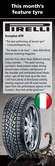 Use Italian made Pirelli tires to boost your car's performance on the road.
