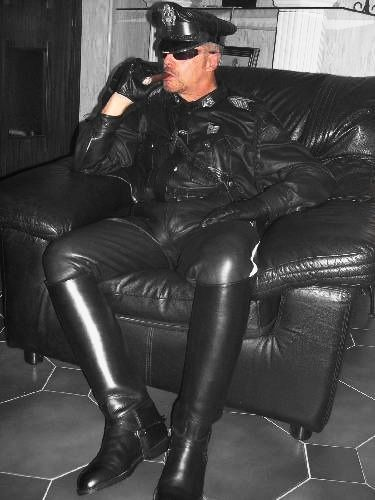 Leather & Boots