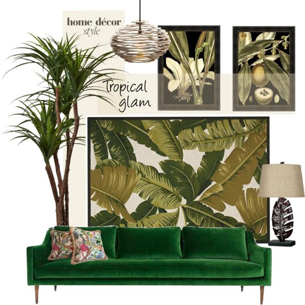 tropical glam by youaresofashion on polyvore featuring
