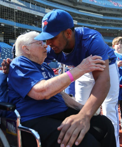 Toronto Blue Jays' Edwin Encarnacion has come a long way in the game