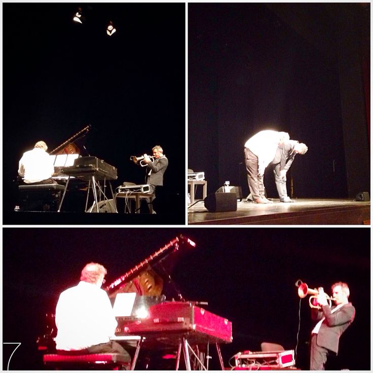 FRESU + URI CAINE = #TwoForThree   Special Thanx To #PaoloFresu #UriCaine & #TeatroElfoPuccini  #Milano #Jazz #classical #pop  #flugelhorn #trumpet #piano #Hammond  ⭐️⭐️⭐️⭐️⭐️⭐️  PAOLO FRESU  Paolo Fresu is an award winner, internationally acclaimed Sardinian trumpet player has performed around the world over the past 30 years, with a track record of 300 recordings. Fresu is also professor and artistic director of internationally renowned jazz festivals such as Time in Jazz and Nuoro Jazz…