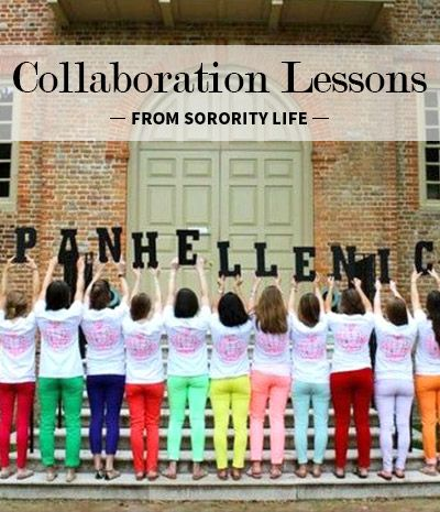 Collaboration Lessons From Sorority Life #theta1870 #leadingwomen
