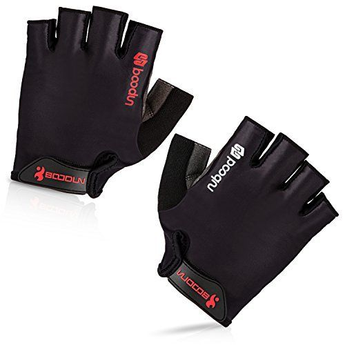 Maso Cycling Gloves with Shock-absorbing Foam Pad Breathable Half Finger Bicycle Riding Gloves Bike Gloves (Simple Black,M) B-001 - http://www.exercisejoy.com/maso-cycling-gloves-with-shock-absorbing-foam-pad-breathable-half-finger-bicycle-riding-gloves-bike-gloves-simple-blackm-b-001/cycling/