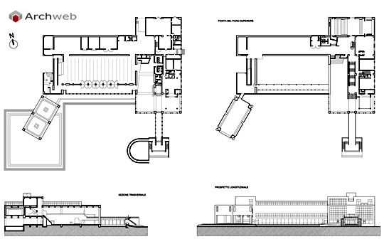 Museum of Modern Art, Gunma prefecture, Japan (1971-74) | Arata Isozaki | Archweb 2D
