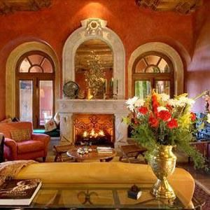 orange mexican room - Google Search