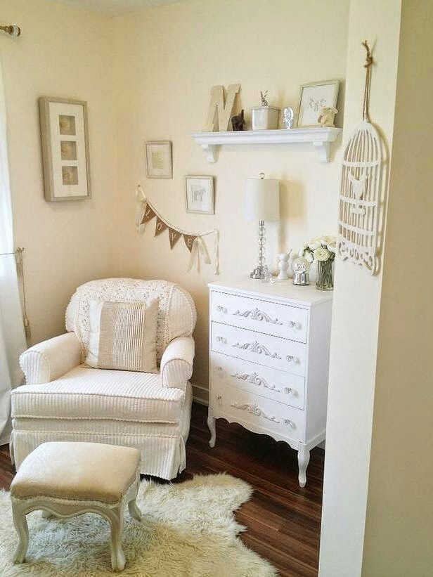So I see this as a cozy nursery space...
