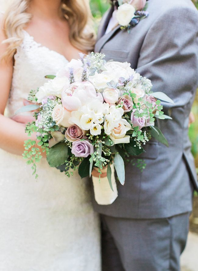 Paris Inspired Lavender Wedding - Inspired By This