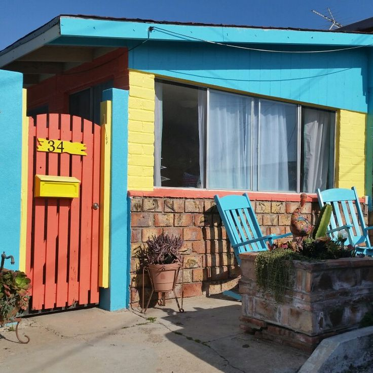 Marigold Bungalows  on AIRBNB & Marigold Bungalows Facebook Holiday Beach Rental Rosarito Beach Baja Mexico