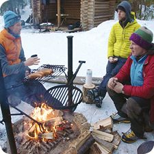 Get together after ice climbing