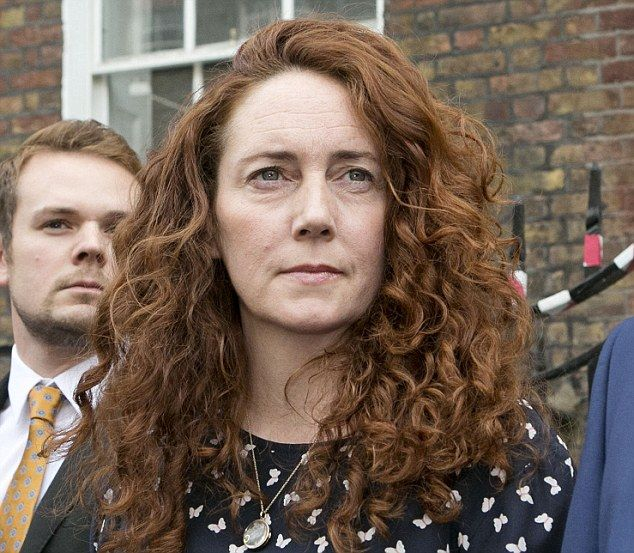 Rebekah Brooks (pictured) has moved to America to lead Rupert Murdoch's hunt for new online investments, it can be revealed. While busted in the hacking scam, SHE was cleared of al charges.   ahem...that hair!