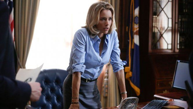 "{style inspiration from the onscreen secretary of state} Partially inspired by Hillary Clinton's time as Secretary of State, the new CBS show ""Madam Secretary"" follows the life of Elizabeth McCord, a former CIA analyst and mother of three.  In the pilot episode, the President's Chief of Staff sends an image consultant to the newly appointed …"