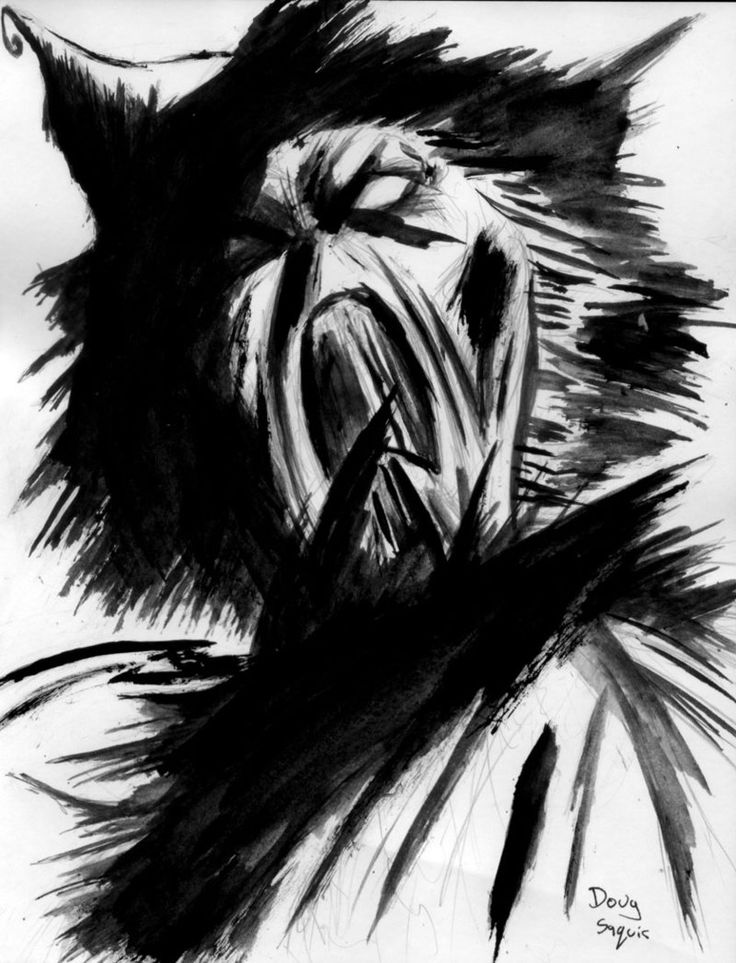Scarecrow from Batman by DougSQ.deviantart.com
