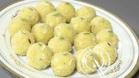 Mung Dal Ladoo Recipe - Moong Dal Laddoo