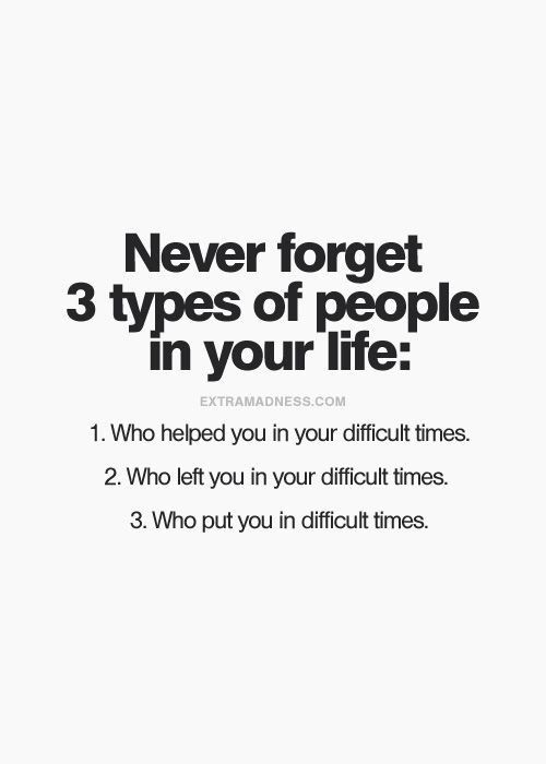 From those 3 types of people , which one is most important ?