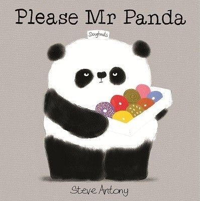 Please Mr Panda by Steve Antony Designed by Izzy Langridge