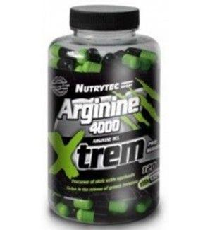 120 cápsulas de L-Arginina 4000 Xtrem 1000mg. Estimula hormona de crecimiento, aumento del colageno, masa muscular, arginine. La L-Arginina es un aminoácido muy importante para los deportistas y personas en general, su eficacia está contrastada por numerosos estudios clínicos y médicos y puede ayudar en muchos aspectos de nuestro entrenamiento o nuestra salud.