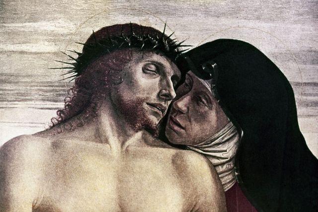 A Short Prayer to Mary Most Sorrowful: Pieta. Giovanni Bellini, c.1430-1516.