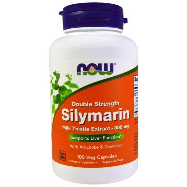 Now Foods, Silymarin, Milk Thistle Extract, 300 mg, 100 Veggie Caps