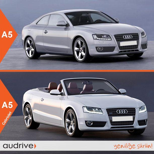 Hangisi size daha çok yakışır? A5 mi, yoksa A5 Cabriolet mi?