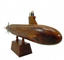 Seawolf SSN21 Seawolf Class Submarine Wooden Model