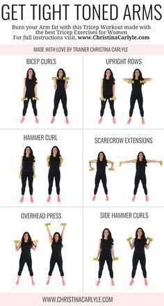 Arm Workout for Women | Posted By: CustomWeightLossP...