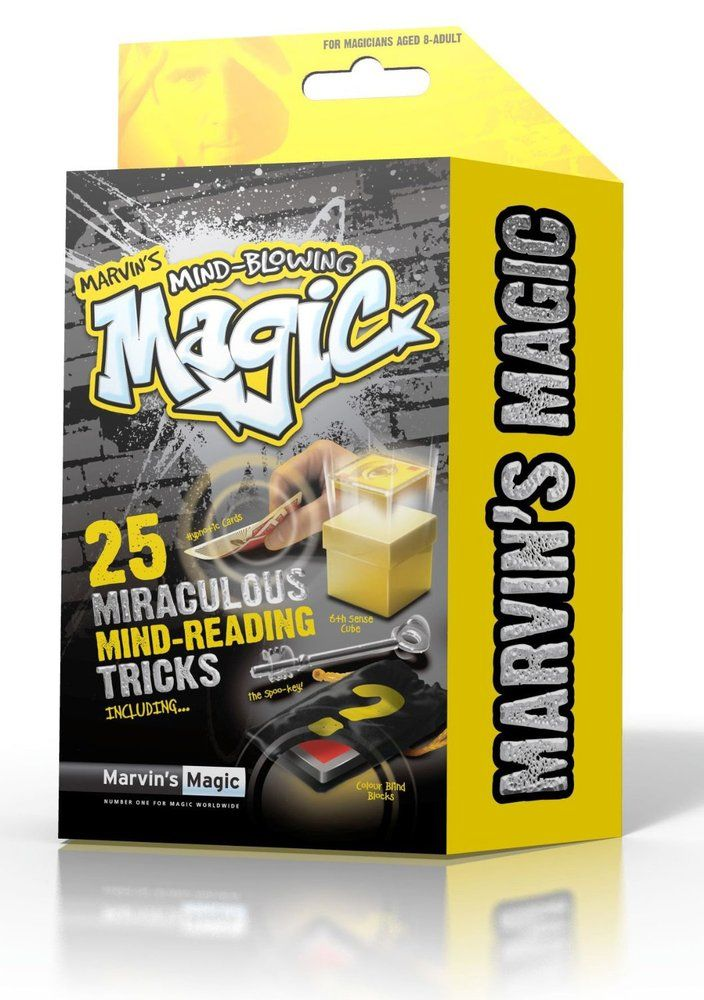 Marvin's Magic 25 Mind Blowing Miraculous Mind Reading Tricks