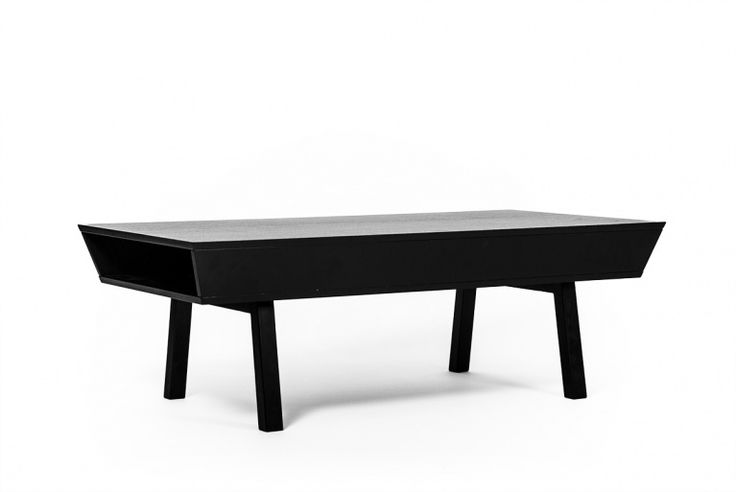 A stylish black table for your livingroom. Design Björn Welander / Snyggt svart soffbord
