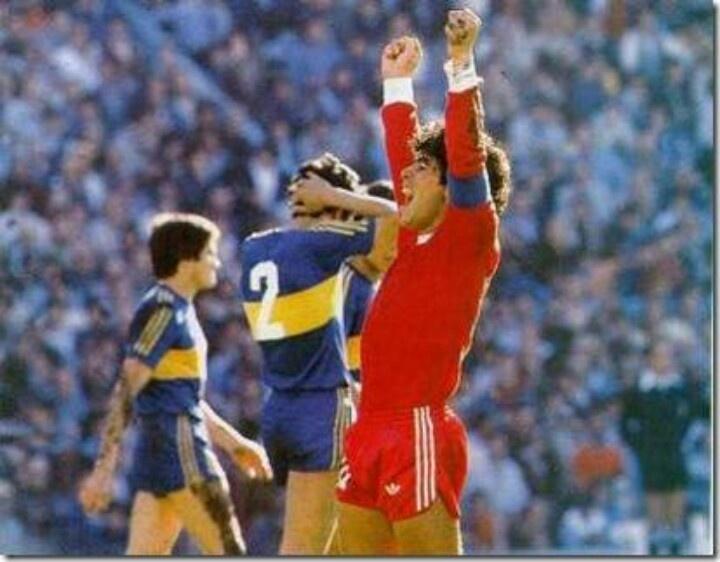 Maradona y su 1er club, Argentinos jrs